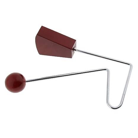 Homyl 1 und Vibraslap de Madera Percusión de Mano Instrumentos Musicales Durable