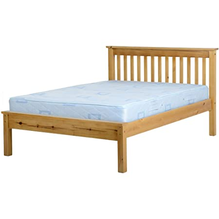 Seconique Monaco Low Foot End Double Bed FREE DELIVERY