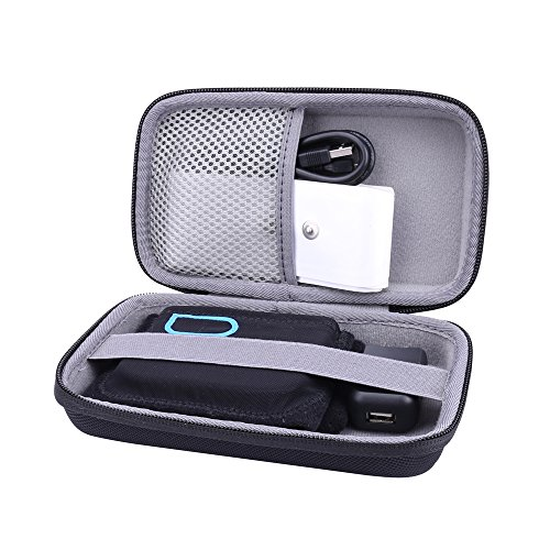 Hard Storage Travel Orgainzer Case for Quell/Quell 2.0 Wearable Pain Relief Starter Kit fits Electrodes by Aenllosi (black)