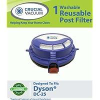 Dyson Post HEPA Filter fits Dyson DC25 Vacuum Cleaner; Replaces Dyson DC25 Filter Part # 916188-05, 91618805