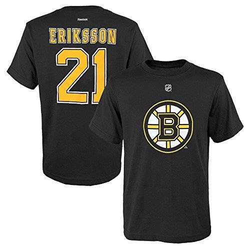Outerstuff Loui Eriksson NHL Reebok Boston Bruins Player Jersey Black T-Shirt Youth (S-XL)