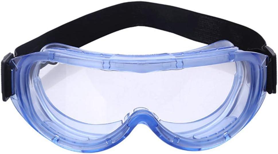 Cotrdocigh 3PCS Protección de Gafas Seguridad Médica Antivaho/antiarañazos A Prueba Polvo Quirúrgico contra Salpicaduras líquidos sobre Gafas Protección Ojos para médicos