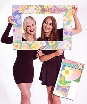 Marco de fotos grande gigante para tarjeta de felicitación de baby shower, regalo de fiesta para niños y niñas personalizado
