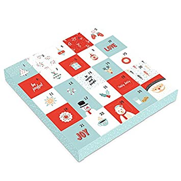 Amazon sugar free christmas holiday chocolate advent sugar free christmas holiday chocolate advent calendar gift box with sugar free assorted chocolate made negle Images