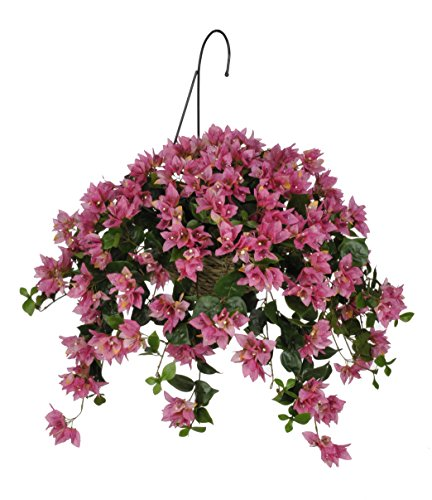 House of Silk Flowers Artificial Orchid Pink Bougainville...