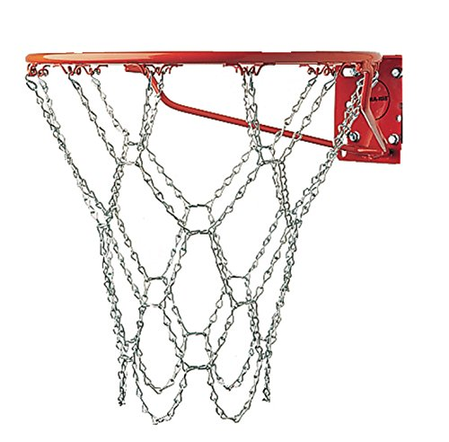 Champion Sports Heavy Duty Metal Chain Link Basketball Internet, Fits Standard Indoor or Outdoor Basketball Hoop (Rustproof, Zinc-plated Galvanized Metal, Silver) – DiZiSports Store