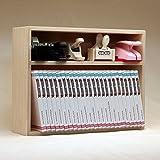 Shelf Unit - Stamp Case W/back, Wall Mount