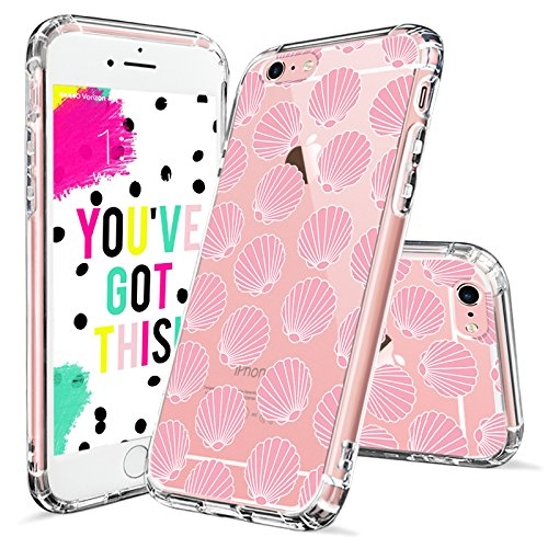 Iphone 6 Case Iphone 6s Clear Case Mosnovo Pink Seashell Pattern