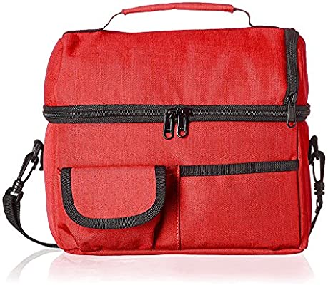 390b77d2492c Walmeck Large Capacity Insulated Square Lunch Bag Cooler Tote Carry ...