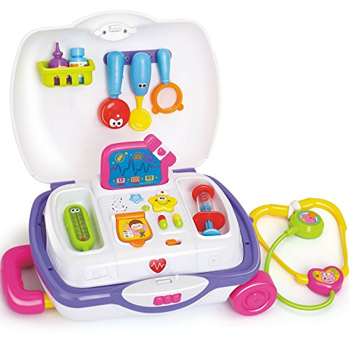 fun wee Medical Pretend Playset Doctor Kit For Kids Children