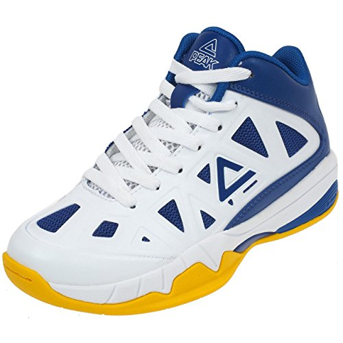 Zapatos Peak Victor Junior azul/blanco Bleu / Jaune