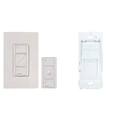 Caseta Wireless Smart Lighting Dimmer Switch and Remote Kit for Wall & Ceiling Lights, P