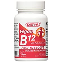 Sublingual B-12, 90 Tab by Deva Vegan Vitamins
