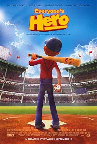 Everyone's Hero - Movie Poster - 27 x 40