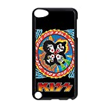 Custom Design With Band Kiss For Apple Ipod Touch 5 Protection Back Phone Covers For Girly Choose Design 4