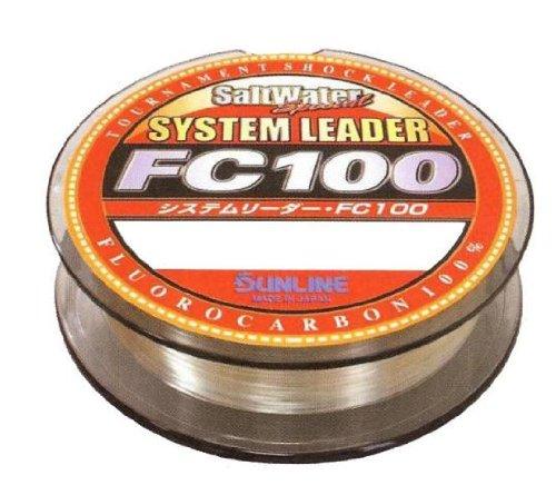 Sunline 60072410 System Leader FC 100 90 Lb System Leader FC 100, Clear, 110 (Sunline Saltwater System)