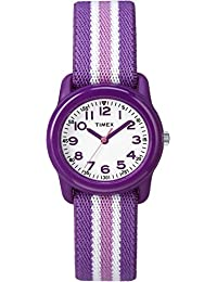 Girls TW7C06100 Time Machines Analog Resin Purple/Pink...