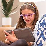 PROSPEK Kids Computer Glasses - Blue Light Blocking Glasses - Moviestar