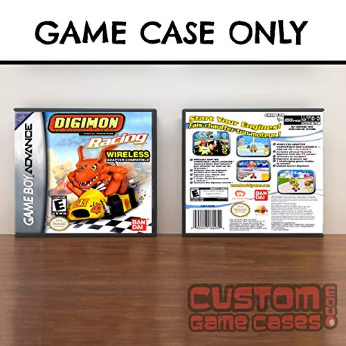 Digimon Racing - Gameboy Advance Digimon Racing - Case