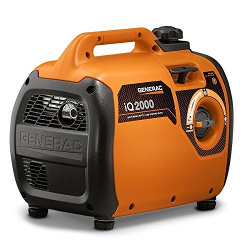 Generac 6866 iQ2000 Super Quiet 1600 Running Watts/2000 Starting Watts Gas Powered Inverter Generator - CARB Compliant by Generac (Image #1)