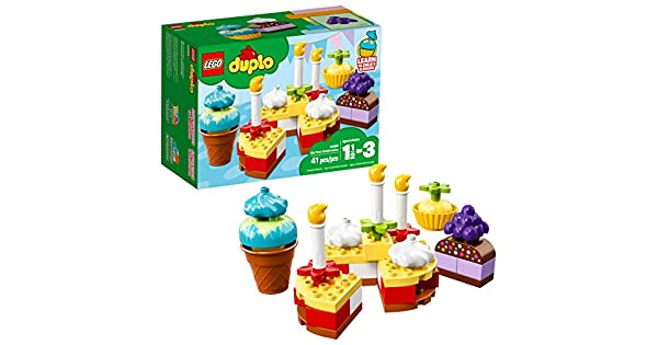 Amazon.com: LEGO DUPLO My First Celebration 10862 Bloques de ...