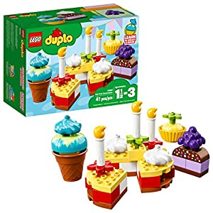 - 51Lt 2B3D3EmL - LEGO DUPLO My First Celebration 10862 Building Blocks (41 Piece)