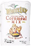 Smuckers White Lily Enriched White Self-Rising Cornmeal Mix Bag, 5 lb