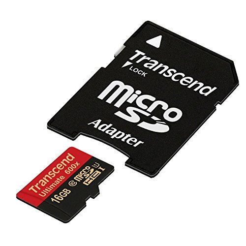 oSDHC Class 10 UHS-I Memory card with Adapter 90 Mb/s (TS16GUSDHC10U1) ()