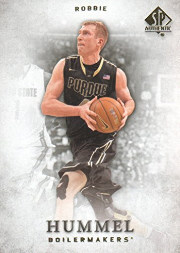 2012-13 SP Authentic Basketball #42 Robbie Hummel Purdue Boilermakers by SP Authentic