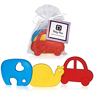 Teething Toys - Set of 3 by A Diva Difference that we recomend personally.
