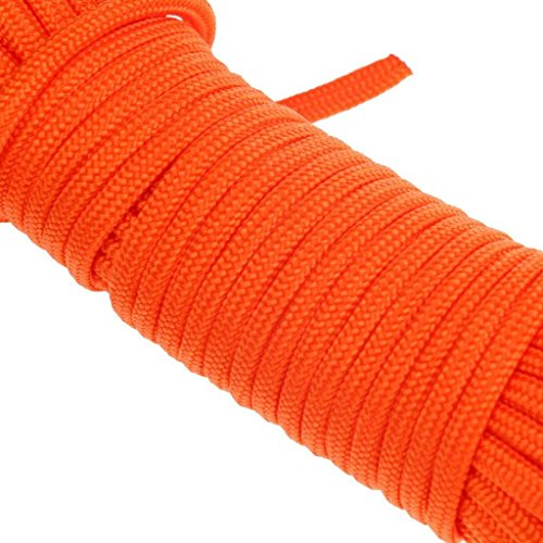 AITREASURE 32.8ft. / 6 mm Floating Rope for Boat Water Tow Rope with Hooks Throwable Flotation Device Water Rescue Safety Equipment for Boating Swimming Pool