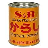 SB Mustard Powder, Karasi, 14-Ounce Tin