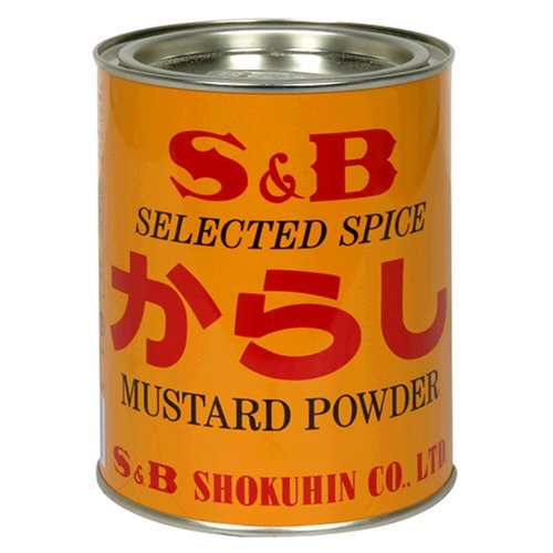SB Mustard Powder, Karasi, 14-Ounce Tin by Tasty Joy