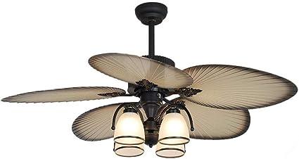 Ventilador de techo de luz de la lámpara del restaurante del ...