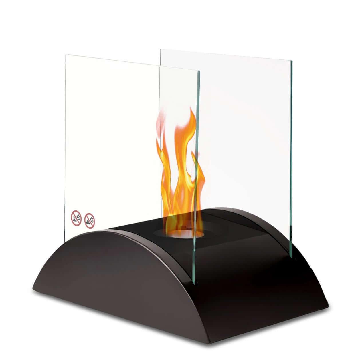 Chimenea de mesa ESENDRA bioetanol con certificado DIN EN 16647 ...
