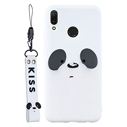 Amazon.com: SHUNDA Funda para Huawei Y9 (2019), carcasa ...