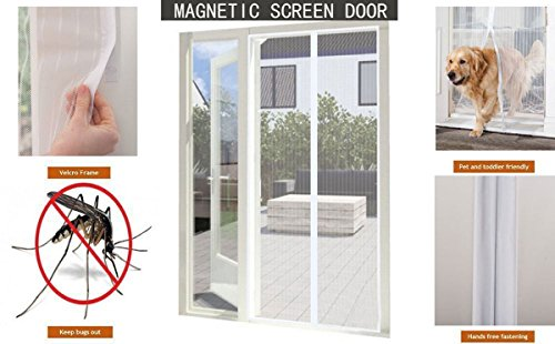 YUNGUI Magnetic Curtain Retractable Installation