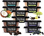 MUSH Overnight Oats Healthy Breakfast, Gluten-Free, Non-GMO, Dairy Free, Protein Rich, No Sugar, 10 Pack Oatme