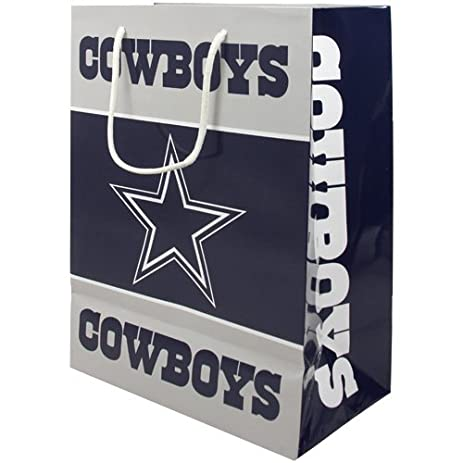 Amazon.com : NFL Dallas Cowboys Medium Gift Bag : Sports Fan ...