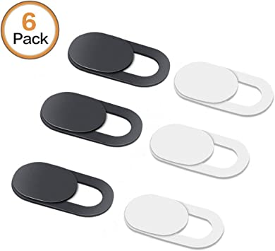 3Pcs Webcam Shutter Slider Phone Front Camera Cover Privacy Protection Sticker