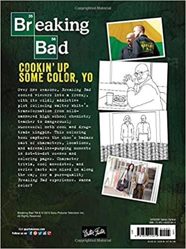 Breaking Bad: Cookin' Up Some Color, Yo: A badass coloring ...