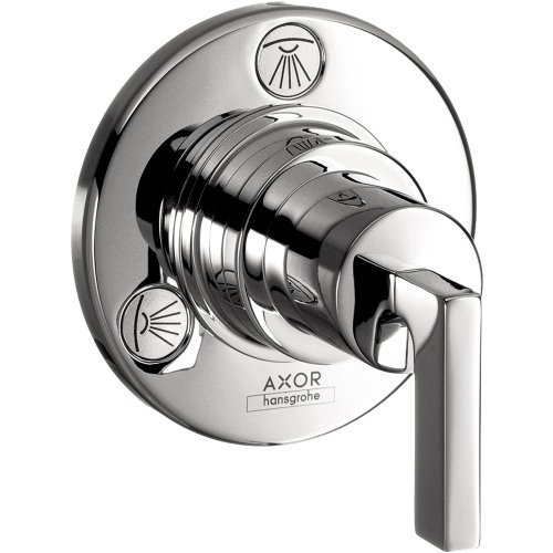 Axor 39931001 Citterio Trio/Quattro Trim with Lever Handle in Chrome