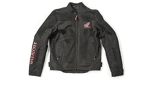 Chaqueta de verano Honda Spidi J.MESH para moto M negro/rojo ...