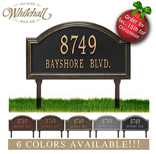 Lawn Address Sign - 5
