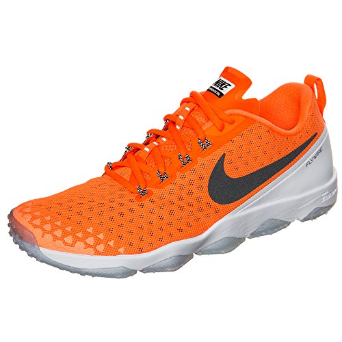 Nike Mens Zoom Hypercross Tr2 Crosstraining Skor Total Orange / Vit / Svart