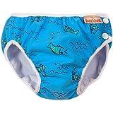 Imse Vimse Swim Diaper Turquoise Fish - Super Large