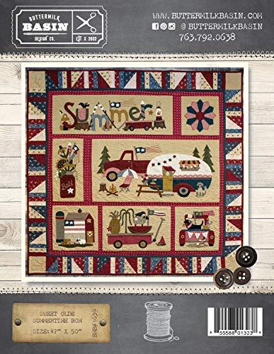 Sweet Olde Summertime BOM Quilt Pattern - by Buttermilk Basin - Wool Applique Pattern - BMB 1639 47