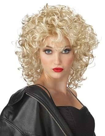 California Costume Colecciones 70431CC adulto El Bad Girl peluca