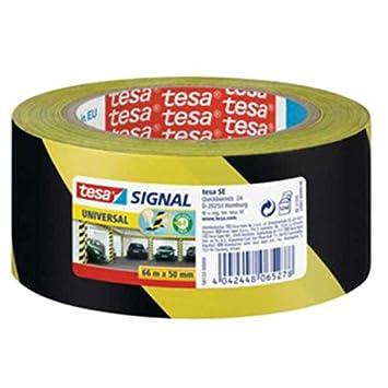 Einzigartig TESA Signal- Markierungs- und Warnband gelb/schwarz 58133, 50mm x  UJ27