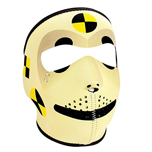 ZANheadgear Neoprene Face Mask (Crash Test Dummy)